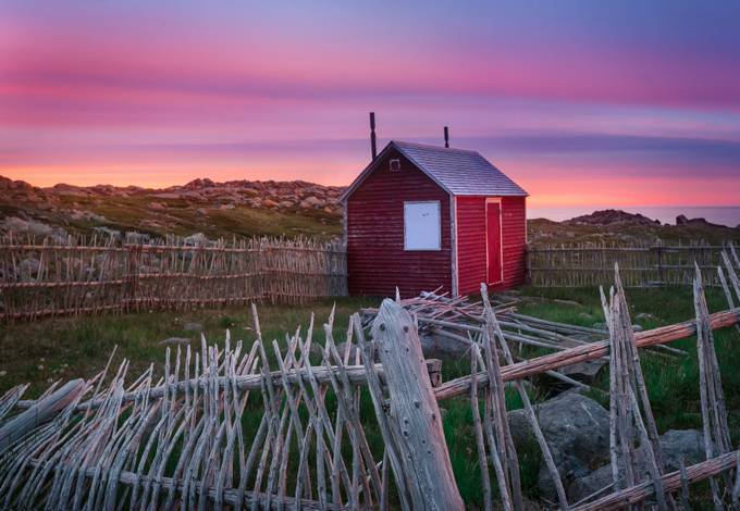 Cape Bonavista Sunset by tracymunson - Composing with Diagonals Photo Contest