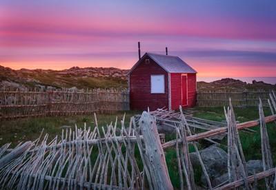 Cape Bonavista Sunset