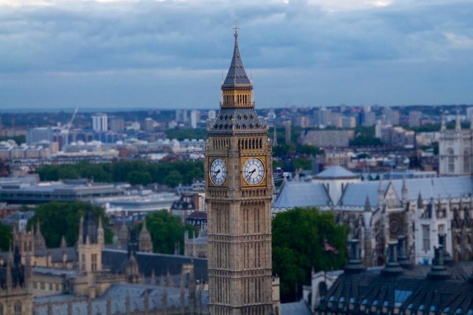 Taken from the London Eye