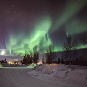 Northern Lights over Fort Wainwright, AK