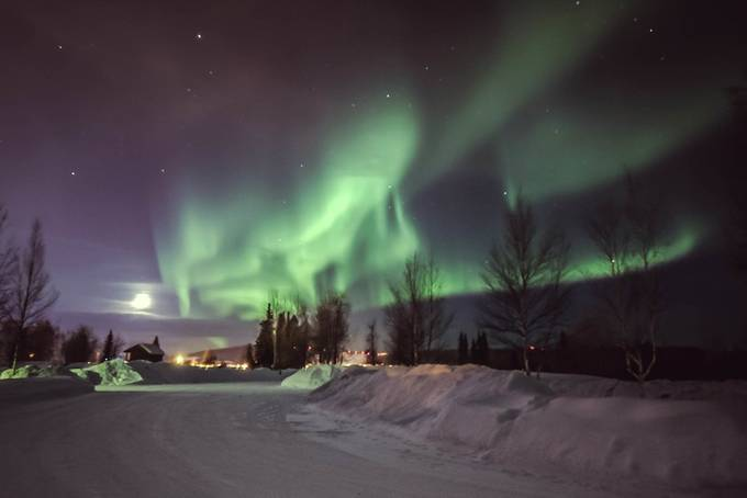 Beautiful Night for Aurora by lmevans - Alaska The Wild Photo Contest