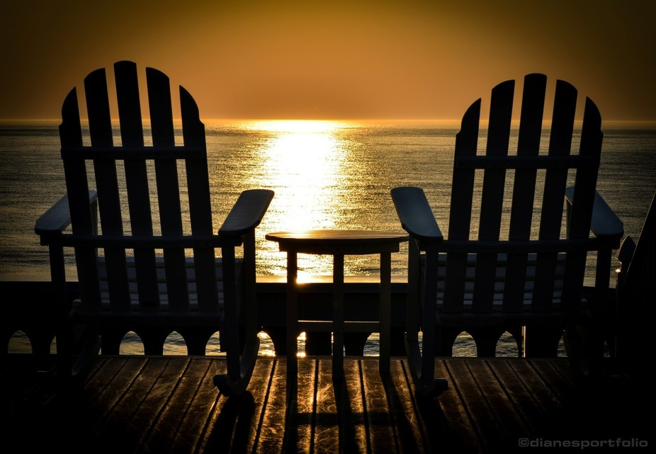 Beach Sunrise (I shot this photo early one summer morning at the Boardwalk Plaza Hotel in Rehobot...