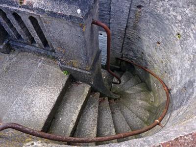 Steps down