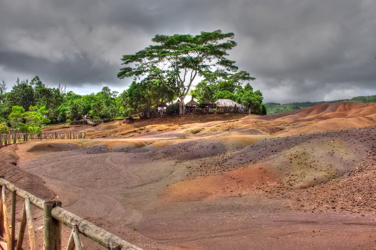 The Mauritius Collection - Chamarel Coloured Earth (2)