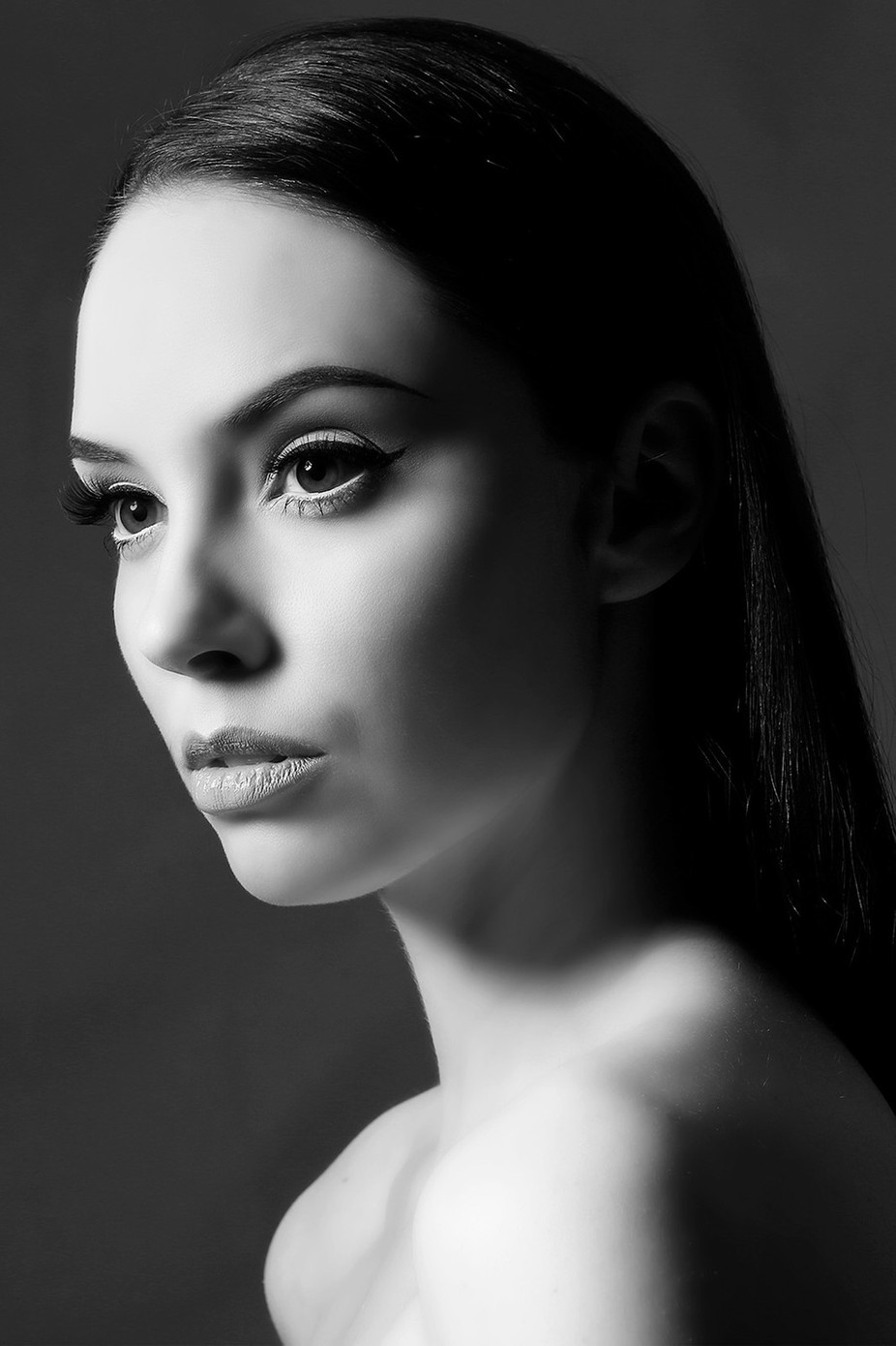 Nicola Jayne by burkittphoto - Black and White Portraits Photo Contest