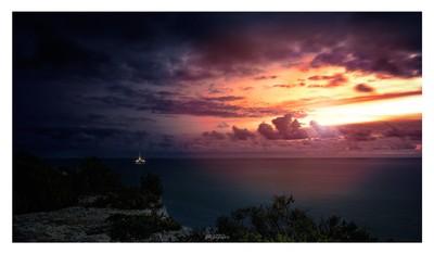 A setting light