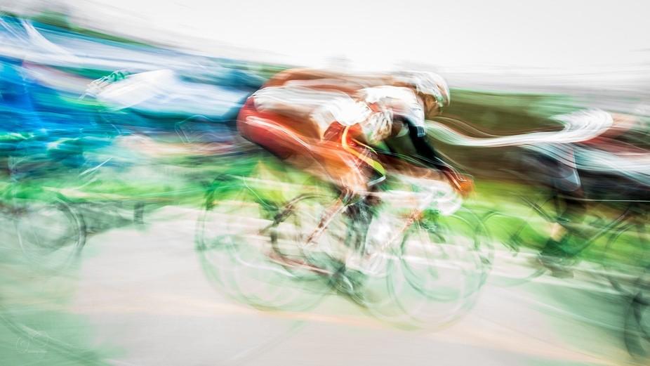 Springbank road race - a spring event on a river's shore in London Ontario. The shorelin...