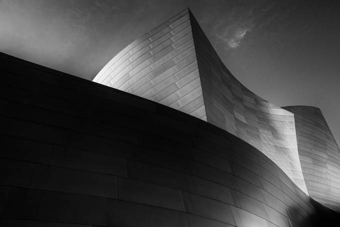 Steel Waves in Black & White by mikeguerra - Composing with Curves Photo Contest