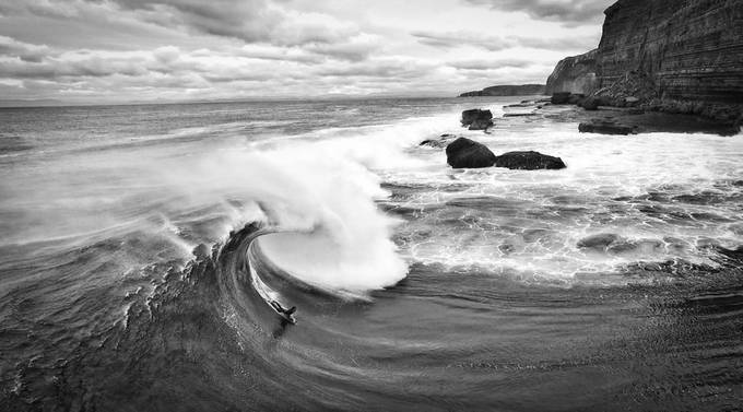Shipsterns Bluff by joeleverard - Black And White Landscapes Photo Contest