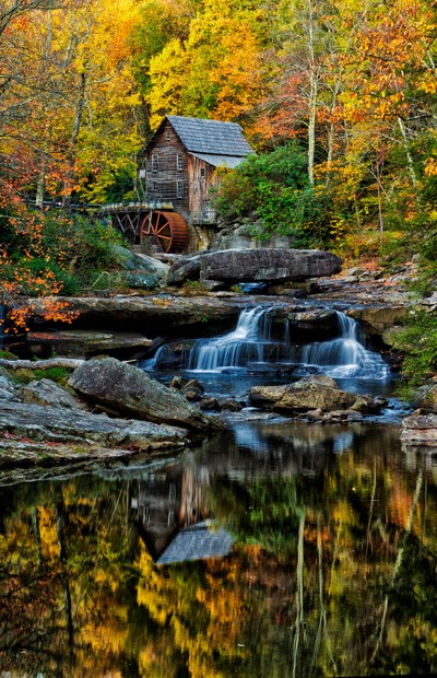 Glade Grist Mill Babcock State Park