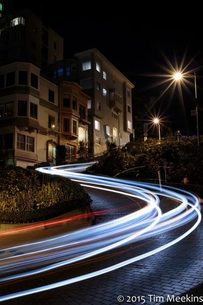Lombard at Night