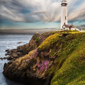 Pigeon Point Lighthouse north of Santa Cruz, California is no longer in service, but still stands as a picturesque reminder of days long ago when...