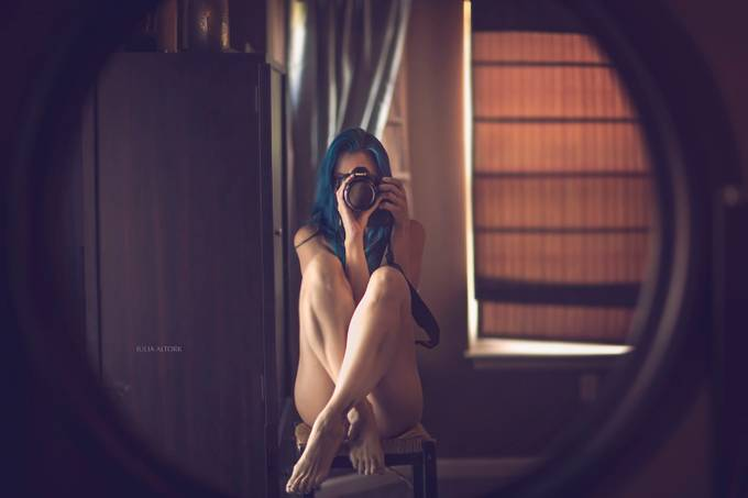 Self by JuliaAltork - The Face in the Mirror Photo Contest