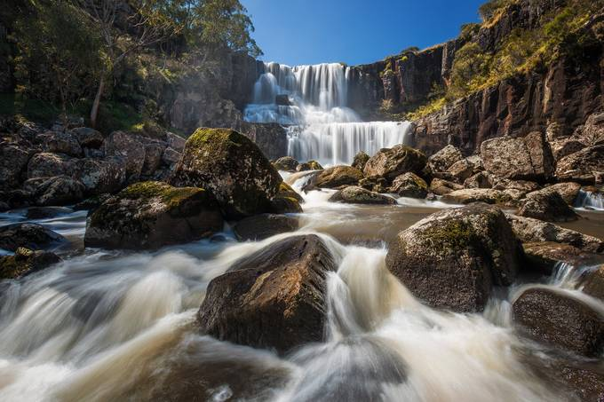 Ebor Falls by DrewHopper - Boulders And Rocks Photo Contest