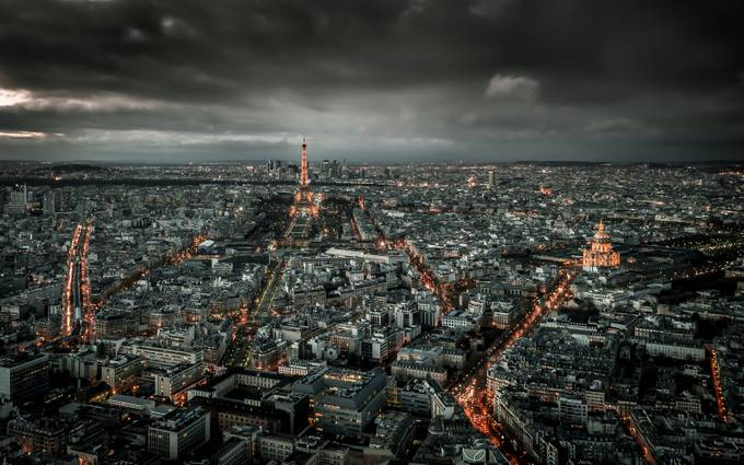 Paris above and below by DenizPhoto - High Vantage Points Photo Contest