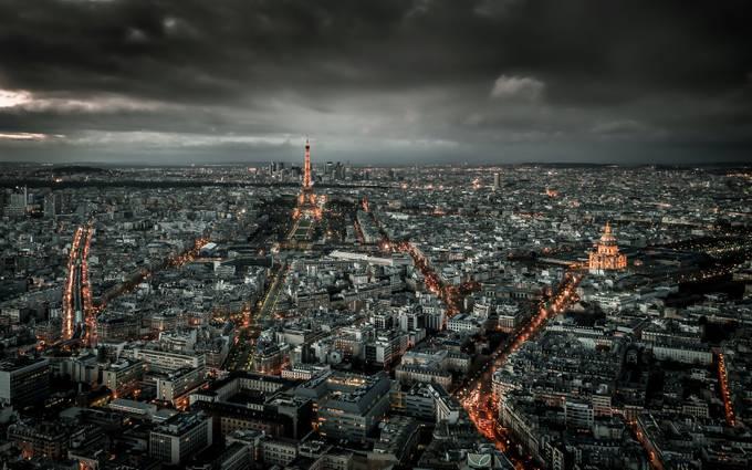 Paris above and below by DenizPhoto - High Vantage Points Photo Contest