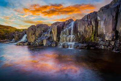 Bushmans Nek Waterfall
