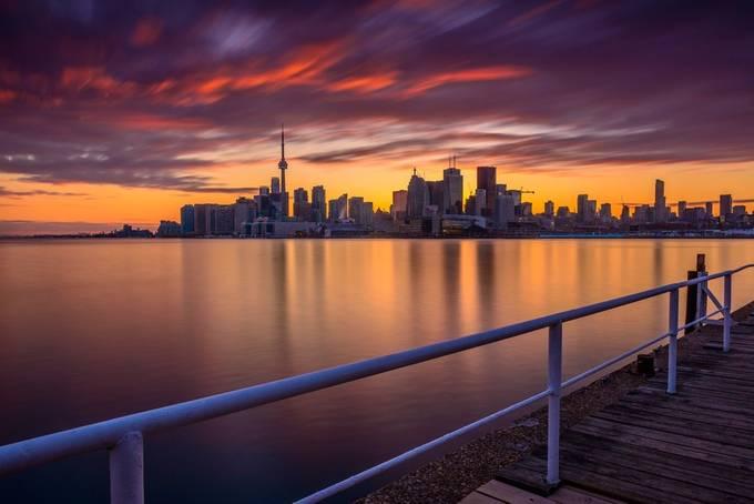Polson Pier- Toronro by MarvinEvasco17 - Promenades And Boardwalks Photo Contest