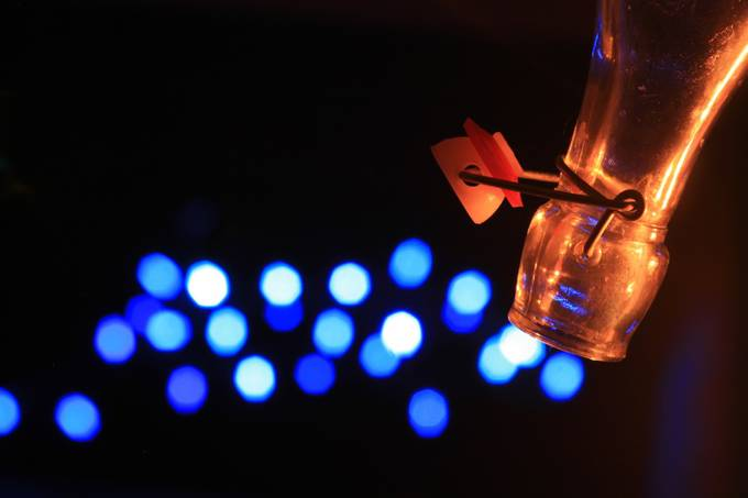 Bokeh Escaping Bottle by souleye - Experimental Light Photo Contest