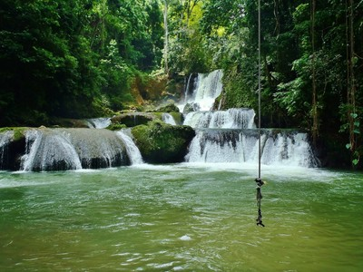 Y.S. Waterfalls Jamaica.