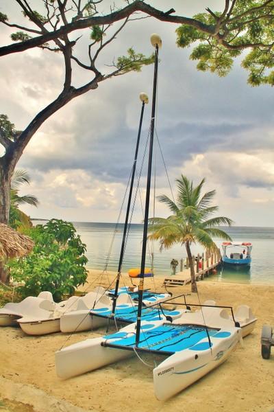 Calm Seas In Jamaica.