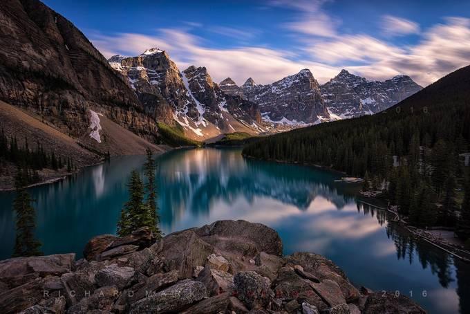 Moraine Lake by markrichard - A World Of Blue Photo Contest