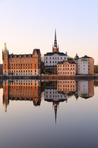 Stockholm - Riddarholmen early morning