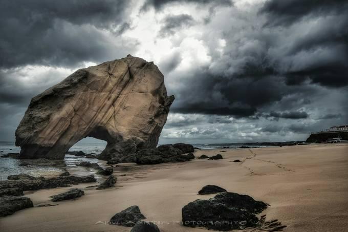 The Rock - Santa Cruz, Portugal by MiguelMartins - Monthly Pro Vol 24 Photo Contest