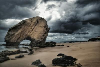 The Rock - Santa Cruz, Portugal