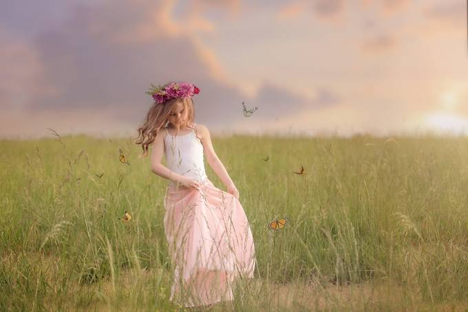 Dancing with butterflies by AshleyGoverman - 500 Outfits Photo Contest