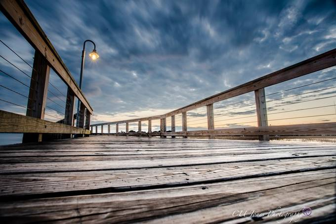 On the Broad walk by christineujones - The Moving Clouds Photo Contest