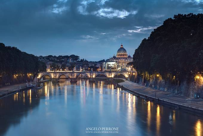 Ponte di Sant'Angelo by AngeloPerrone - City Of Love Photo Contest