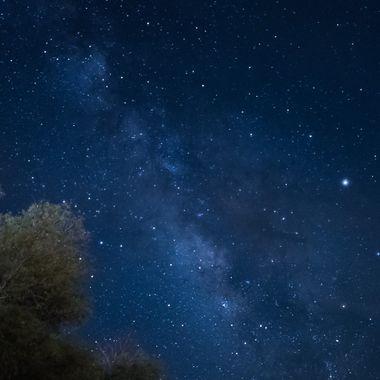 The Milky Way over Borrego Springs, California