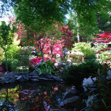 Mars Mother's Day Garden Tour in Oceanside on Vancouver Island - 8 May 2016