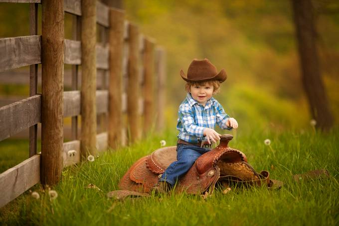 Horseless Rider by timmymarsee - Kids With Props Photo Contest