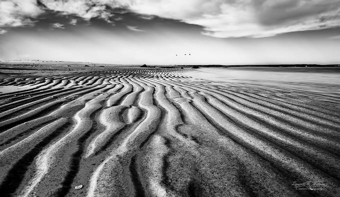 The sands of time by LeanneMWilliams - Patterns In Black And White Photo Contest