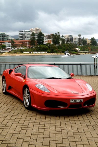 Ferrari in the Gong