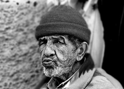 Old Man in Atlas Mountains