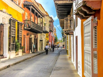 Cartagenia Colorful Sidestreet