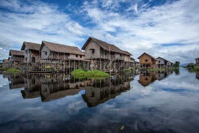 Stilt House - Lake Inle - Myanmar