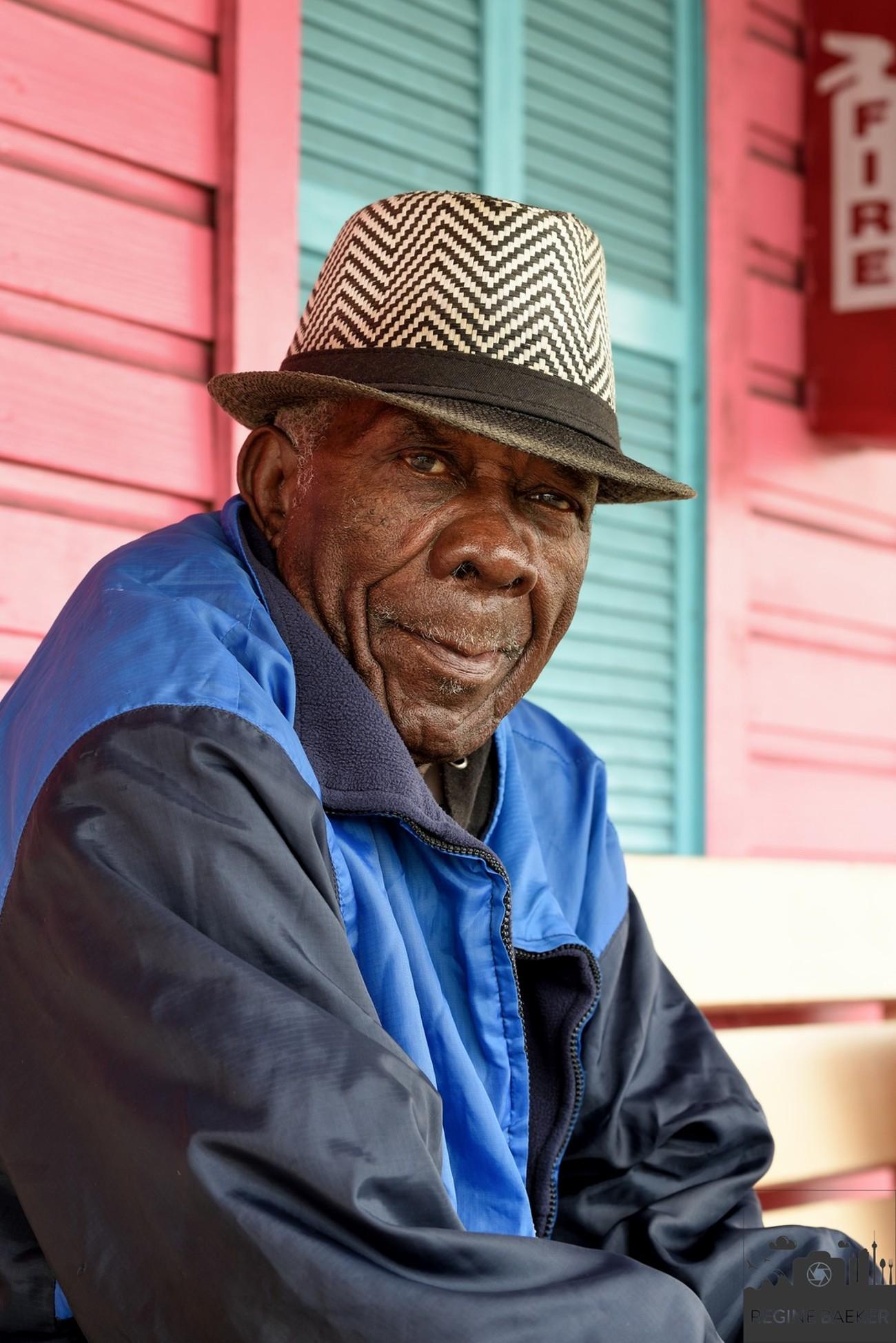 This wonderful old man I met at the Bahamas Islands