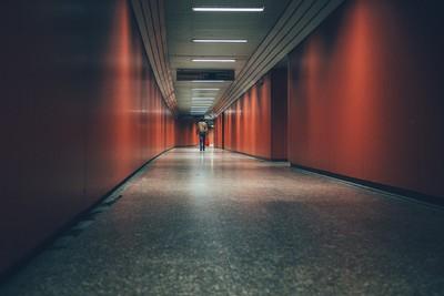 The red passageway