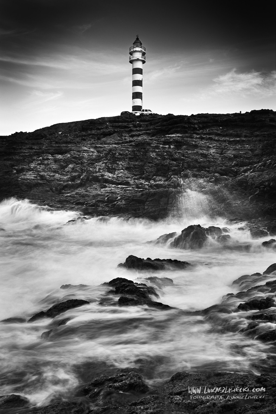 LightHouse_2 by LukaszLisiecki - Black And White Landscapes Photo Contest
