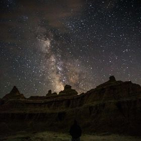 Long exposure at Badlands National Park