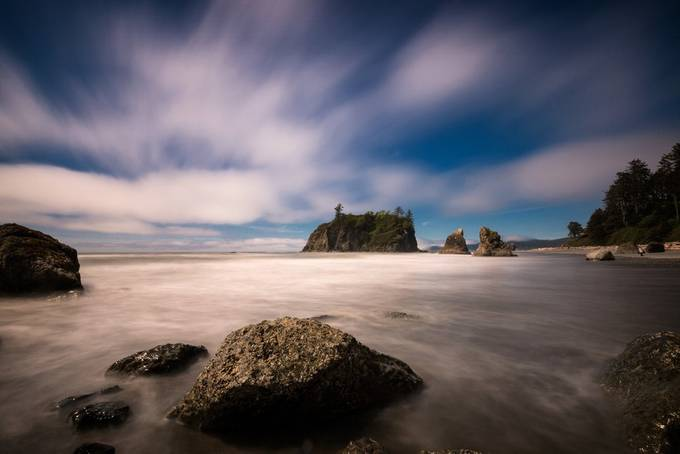 Ruby Beach by galinasimphoto - The Moving Clouds Photo Contest