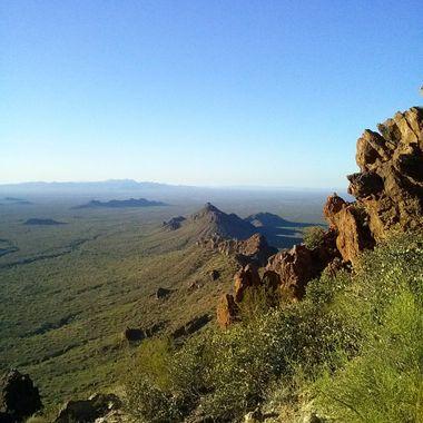 Vulture Peak near Wickenburg, AZ.