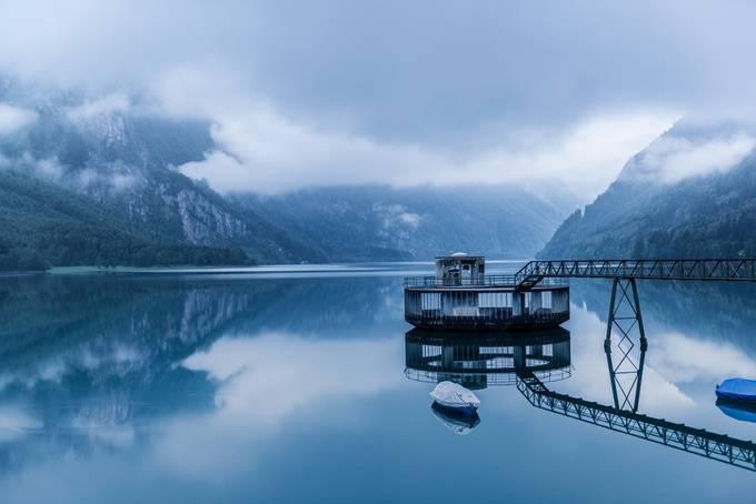 Kloentalersee by pixelwerke - A World Of Blue Photo Contest