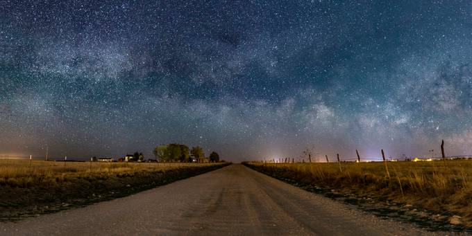 Out There Again NM Milky Way by onyxone1 - Fences Photo Contest