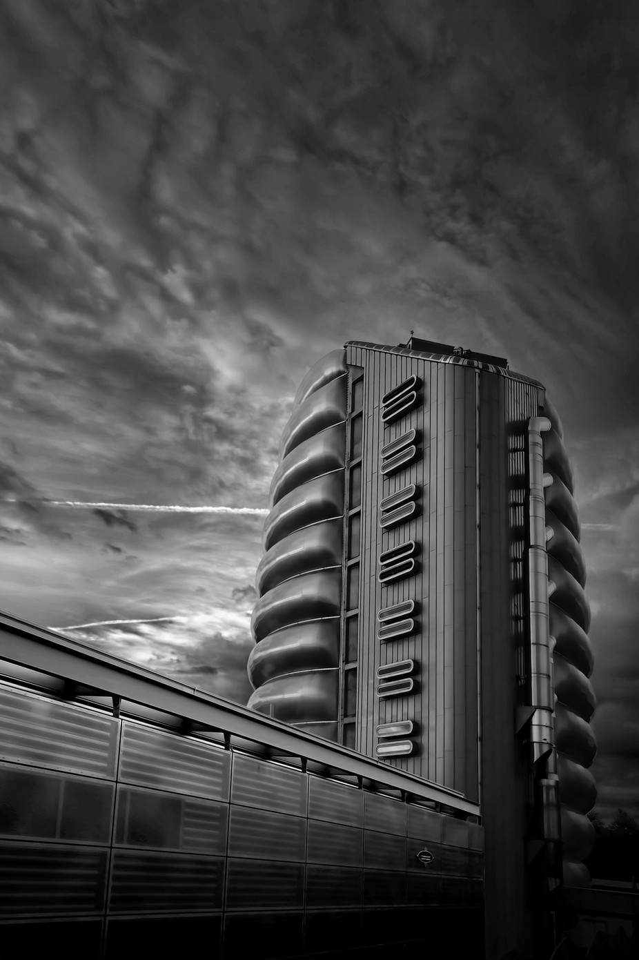 National Space Centre by RAPJones - Structures in Black and White Photo Contest