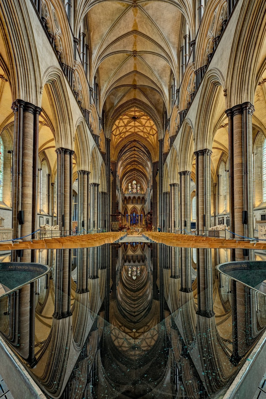Salisbury Cathedral by drbonn - Architecture And Reflections Photo Contest